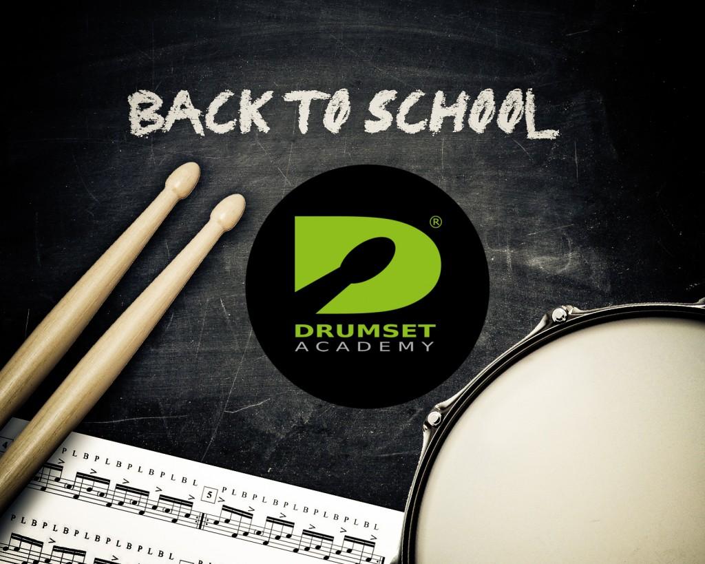 BACK TO SCHOOL-2016 DRUMSETACADEMY