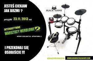 Warsztaty perkusyjne BLACK HAWK