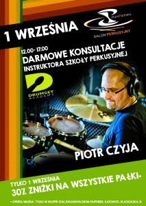 konsultacje drumset academy 1 września