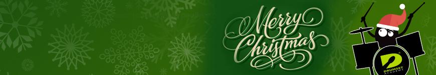 wesołych świąt życzy Drumset Academy-cover