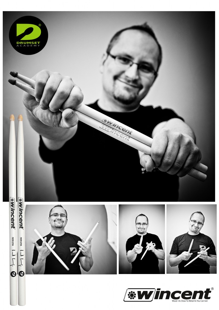 Pałki Wncent w Drumset Academy